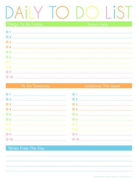 printable work organizer 1000 images about printable to do list on pinterest