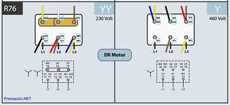 wiring diagram 6 lead 3 phase 480 volt motor 480 volt 3