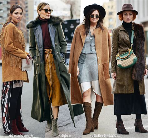 what is in style for a 70 year old woman nyfw street style get the 70s look blue is in fashion