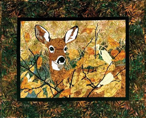 Wildlife Quilt Patterns Free by Quilt Inspiration The Great Outdoors Mountain Wildlife