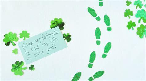 printable elf footprints quot follow the leprechaun quot trail printable craft martha stewart