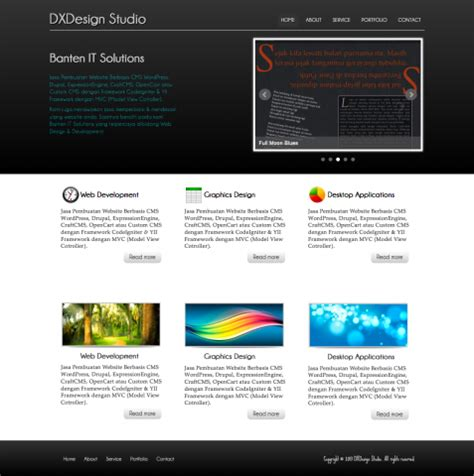 membuat website company profile membuat website company profile dengan html5 css3 rudi