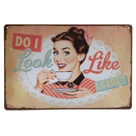 coffee tin sign vintage metal plaque poster bar pub