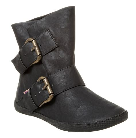 pirate shoes womens blowfish hold em pirate ankle boot black relax pu