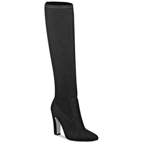 dressy high heel boots lyst ivanka sila shaft high heel dress boots