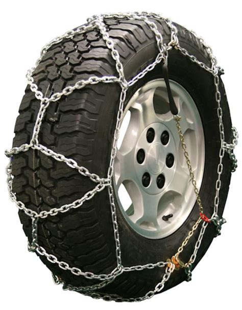 light truck tire chains light truck back square link pull chain style