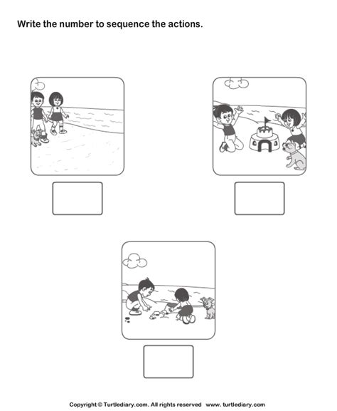 free printable preschool sequencing activities sequencing family events worksheet google search