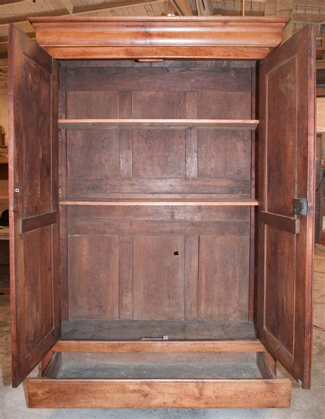 louis philippe armoire cherry louis philippe armoire in cherry at 1stdibs
