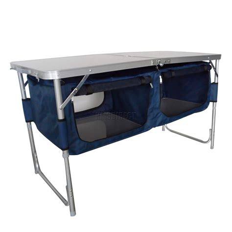 Folding Table For Kitchen Folding Cing Kitchen Table Stand Picnic Cupboard Storage Portable Outdoor New Ebay