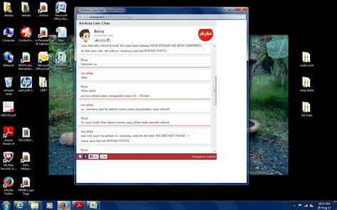 airasia online chat kaki berjalan mata memandang jari menaip live chat
