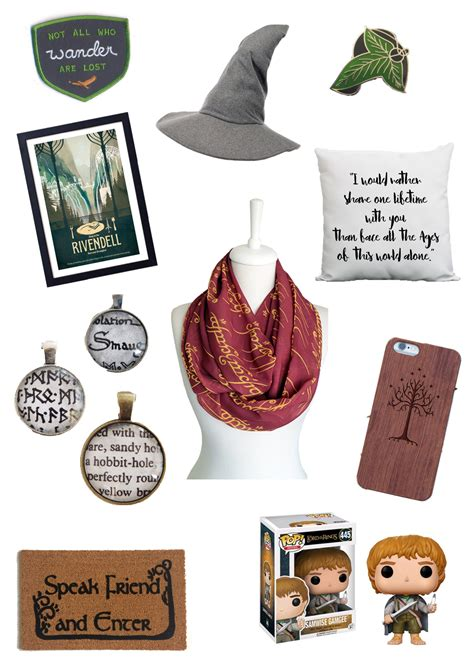 gifts for tolkien lovers 10 lord of the rings gifts for your geeky friends or yourself