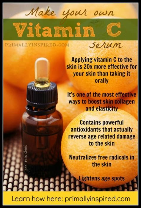Serum Vit C do it yourself just like that vitamin c serum