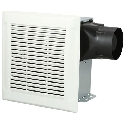 home depot bathroom exhaust fans nutone invent white 110 cfm ceiling single speed exhaust