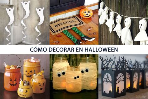 como decorar en halloween c 211 mo decorar en halloween decolife