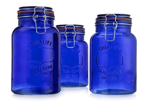 cobalt blue kitchen canisters best cobalt blue kitchen accessories and decor