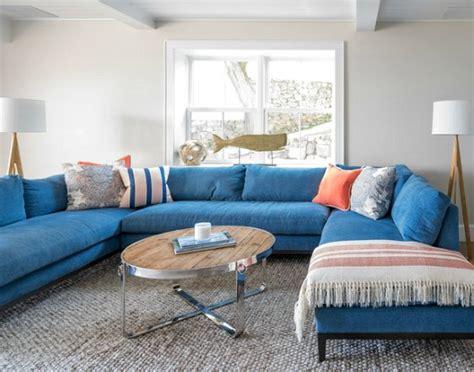 Blue Sofa Decor by Blue Sofa Decor Ideas Coastal Decor Ideas And Interior