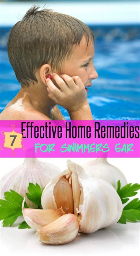 17 best ideas about swimmers ear remedies on