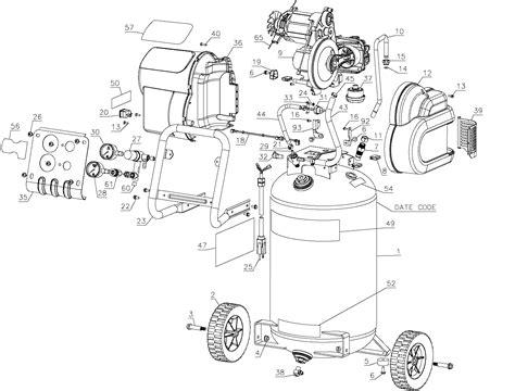 dewalt d55168 wiring diagram dewalt schematics wiring