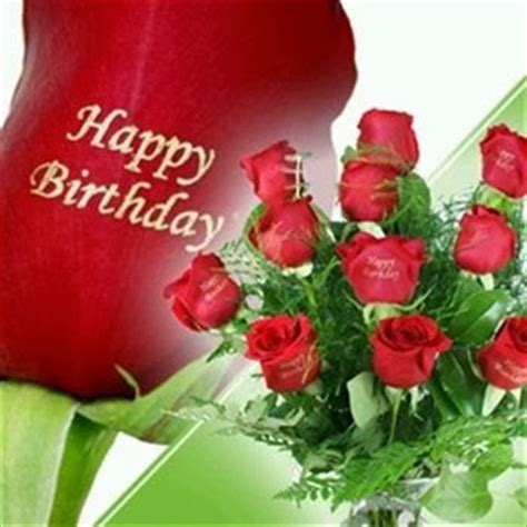 imagenes de feliz cumpleaños con rosas imageslist com happy birthday with red roses part 1
