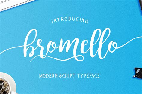 bromello font free design resources
