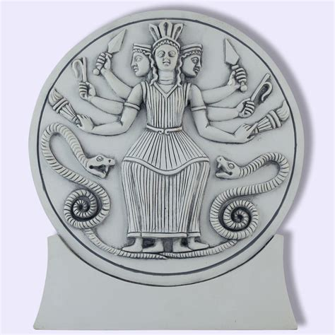 hecate symbolism hecate greek roman triple goddess statue sacred source