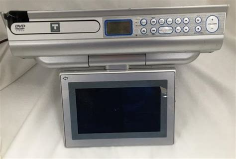 under cabinet radio tv kitchen 7 quot lcd under cabinet space saving digital dvd tv radio