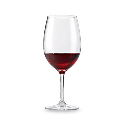 bed bath and beyond wine glasses wine enthusiast break free polycarb red wine glasses set
