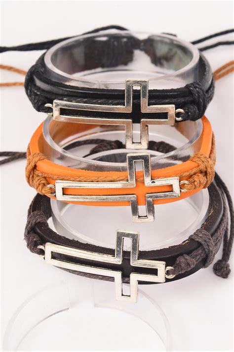 Ct98bav Tas Fashion Import Satchel Brown Camel bracelet real leather band silver sideway open cross adjustable dz unisex adjustable 4 black