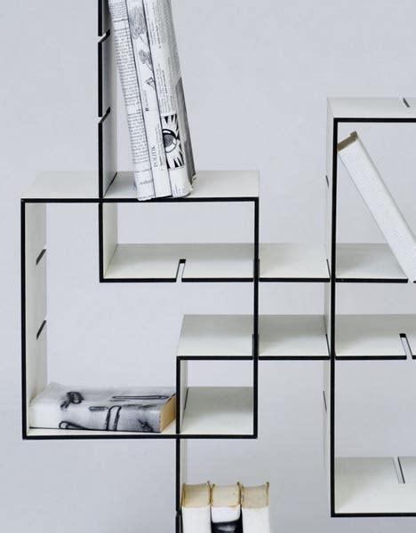 Book Shelf Systems by Modern Mobile Modular Diy Slot Slide Shelves System