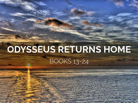 themes book 13 odyssey the odyssey books 13 24 overview by patti forster