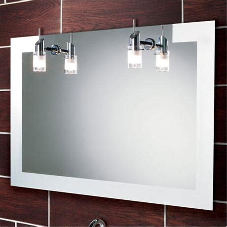 Bathroom Mirrors With Lights Uk Hib Felix Illuminated Mirror 64283495 At Plumbing Uk