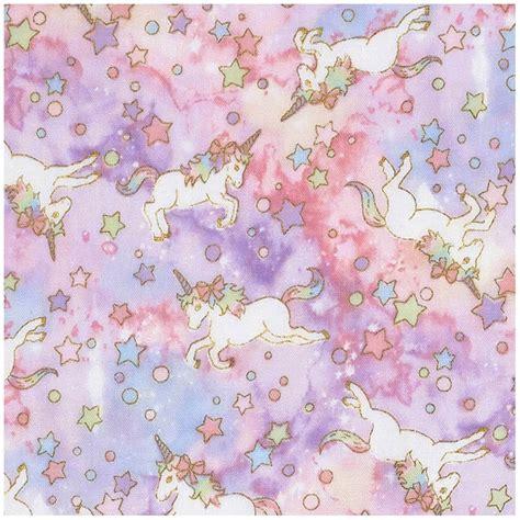 unicorn pattern fabric unicorn fabric from kokka