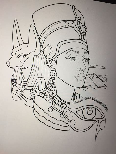egyptian queen tattoos designs design by amanda creek artist in