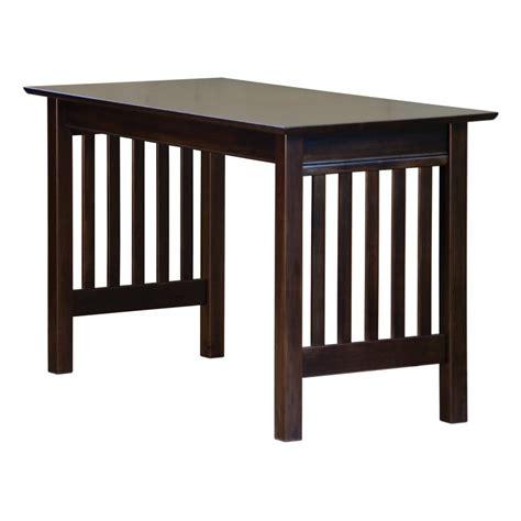 shop atlantic furniture mission mission shaker writing