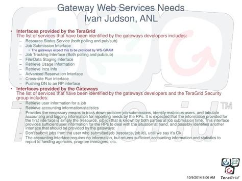 Science Gateway Essay by Ppt Science Gateways On The Teragrid Powerpoint Presentation Id 5336547