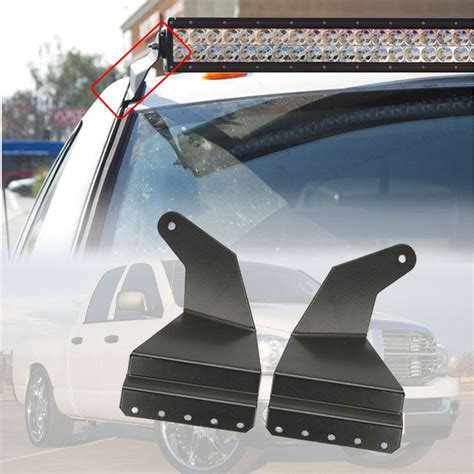 Led Light Bar Mounts Dodge Ram 52 Inch Light Bar Mount For Dodge Ram Cold As Steel