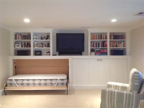 twin murphy bed twin murphy bed basement transitional with basement renovation horizontal murphy