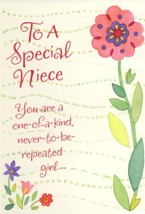 Birthday Quotes For A Special Niece Special Niece Quotes Quotesgram
