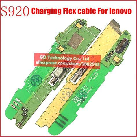 Lenovo S650 Usb Charging Connector Board Mic original lenovo s920 usb cable charging port microphone cable usb board loud speaker