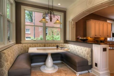 kitchen booth designs modern large kitchen booth seating design managing