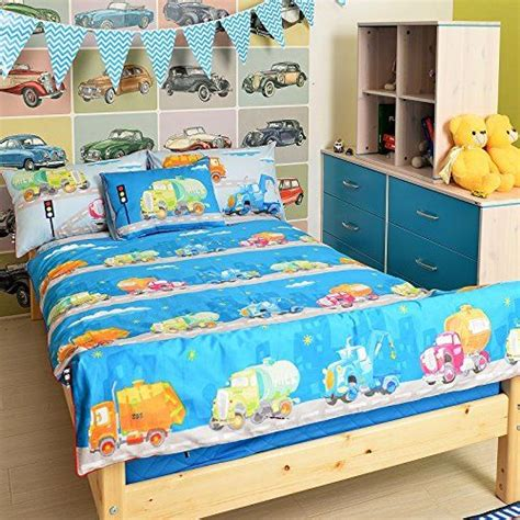 boys comforter sets full size lelva boy car theme bedding sets cartoon childrens bedding