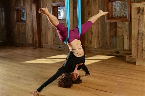 yoga swing tutorial 17 best images about flying yoga on pinterest