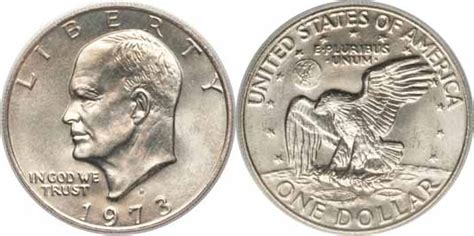 specifications eisenhower silver dollars 1973 d eisenhower dollar values facts