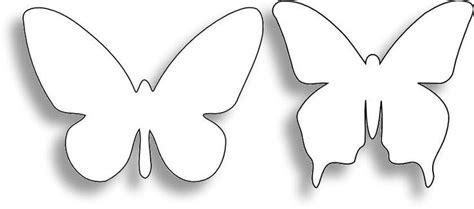 butterfly paper cut out template butterfly outline pattern butterflies pics ideas