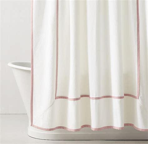 white hotel shower curtain black hotel motif white shower curtain