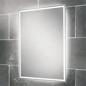 led bathroom mirrors hib ella led back lit bathroom mirror 64154495 mirrors