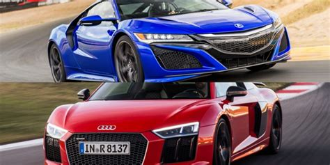 Nsx Vs R8 by Nsx Acura Connected