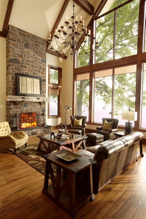 heavenly rustic family room designs    enjoy