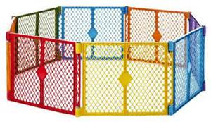 colorful baby gate states color superyard baby pet gate and portable