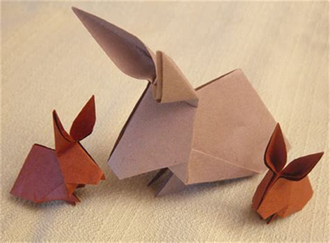 Origami Hase Faltanleitung by Origamipage Hasen